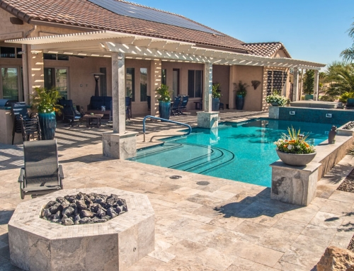 Arizona royal landscaping and design swimming pools for Pool design az