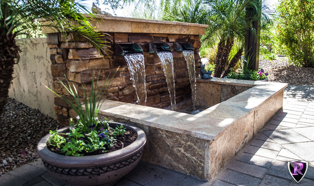 Water Features For Backyard arizona royal landscaping water features - arizona royal landscape