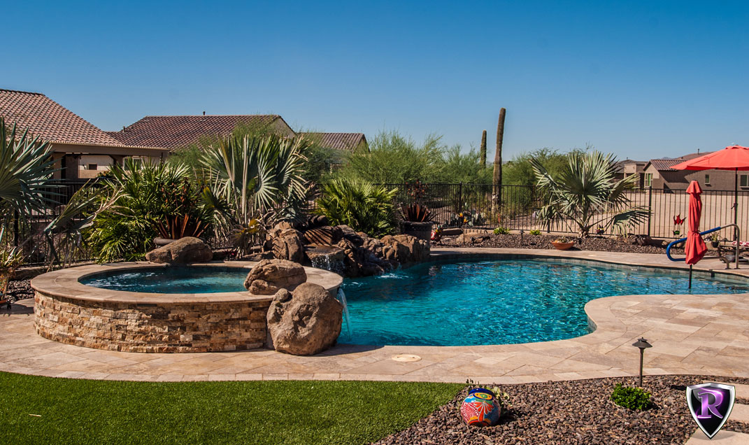Arizona royal landscaping swimming pools arizona royal for Pool design az